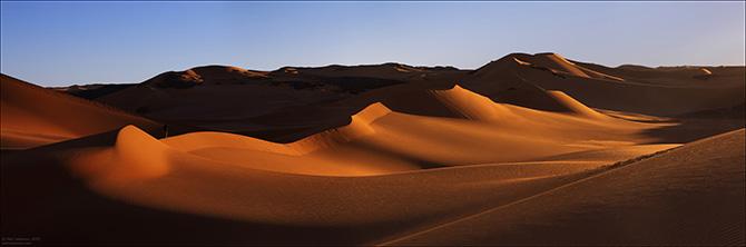 Панорамы пустыни Сахара