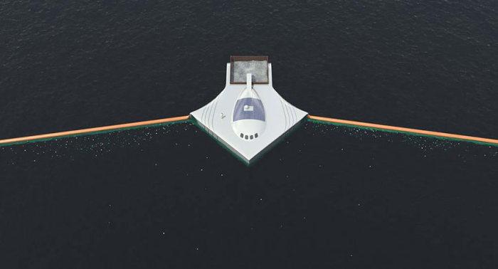 Первая автономная система очистки океана