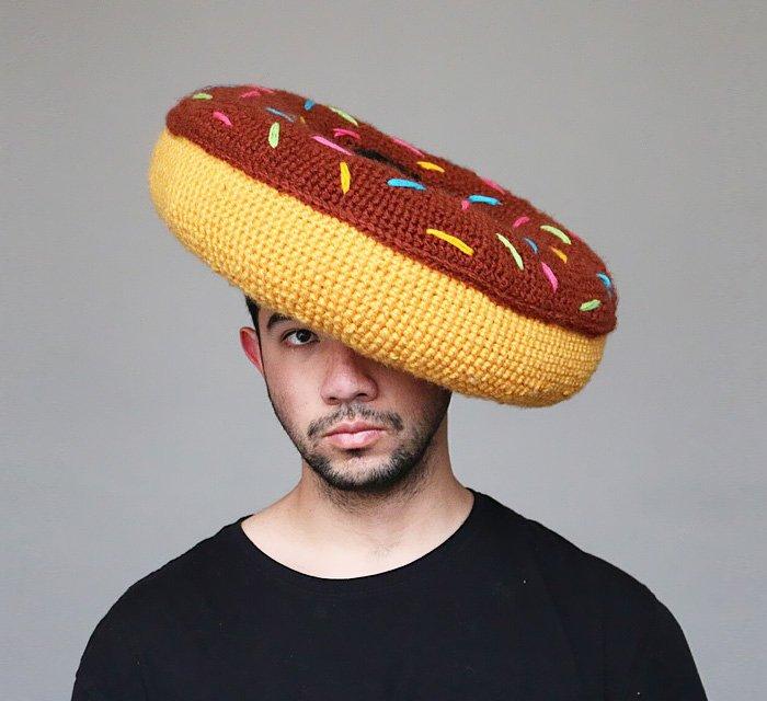 Вязаные шляпы и еда от Фила Фергюсона