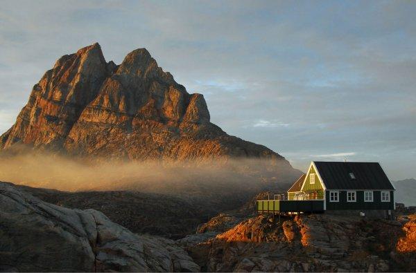 Летний курорт Гренландии
