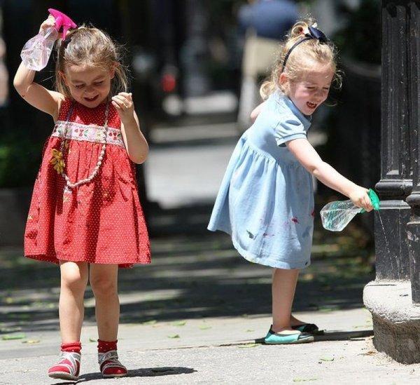 Дети умеют получить удовольствие от прогулки