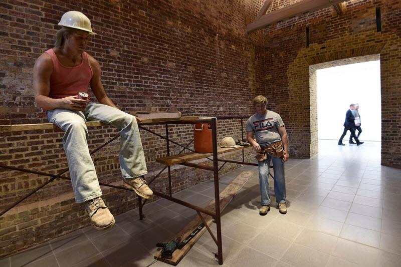 Реалистичные скульптуры от Дуэйна Хэнсона