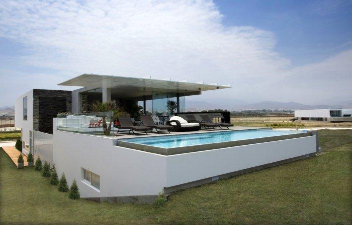 Роскошный особняк Casa V в Перу