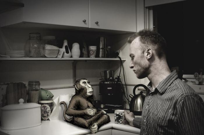 Сюрреалистические иллюстрации на фото от Майкла Алесича