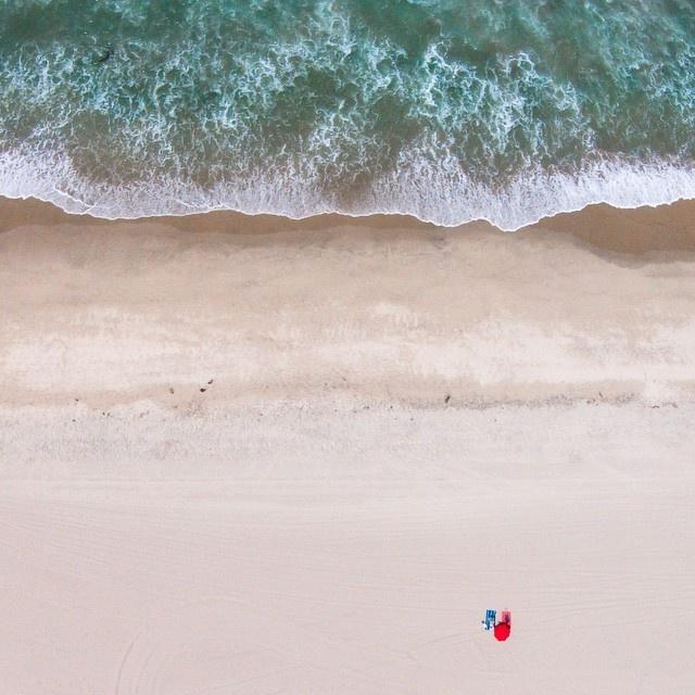 Фотографии пляжей, сделанные беспилотниками