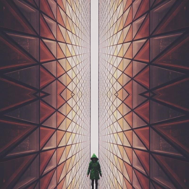 Головокружительные геометрические фотографии