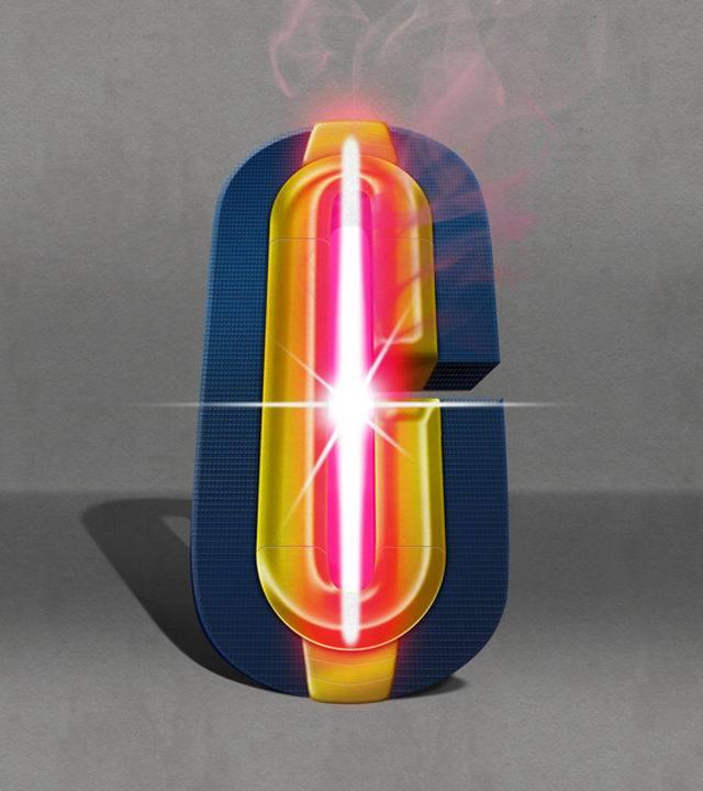 Супергеройская азбука от Саймона Коэй