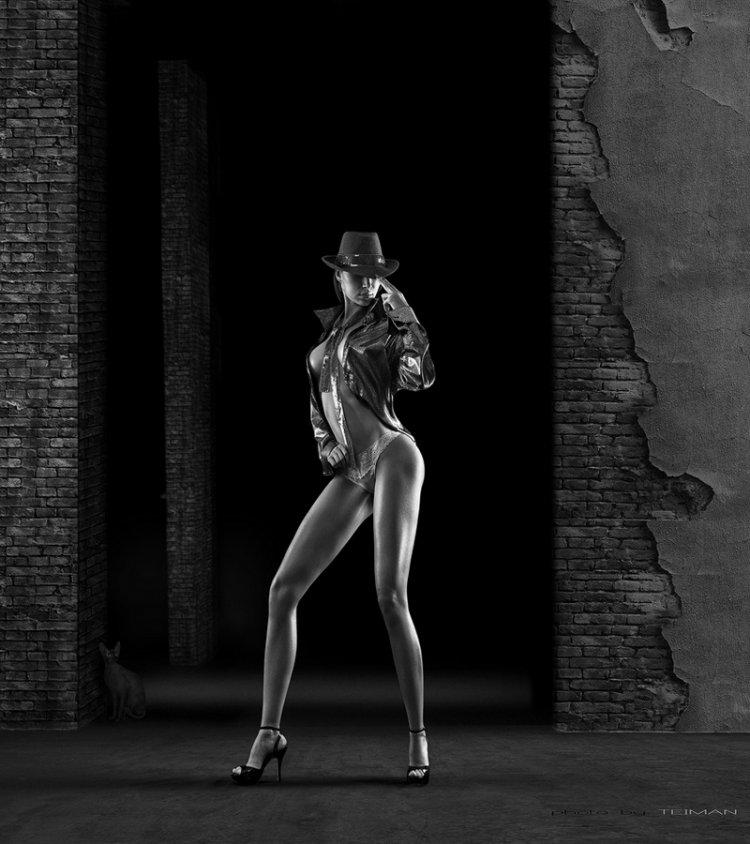 Красивые девушки на фотографиях Дмитрия Теймана