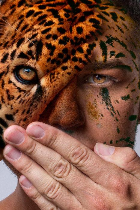 Дикие лица — фотопроект Девина Митчелла