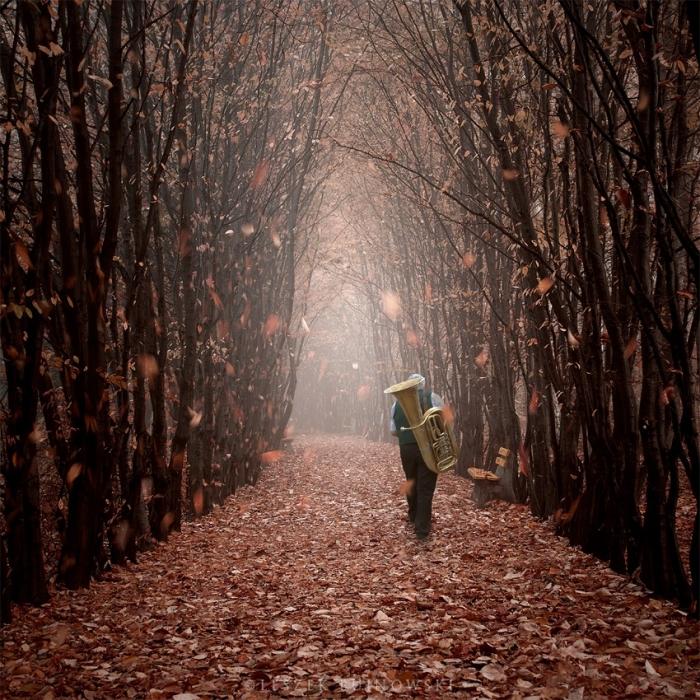 Сюрреалистичные фотографии Лешека Буйновского