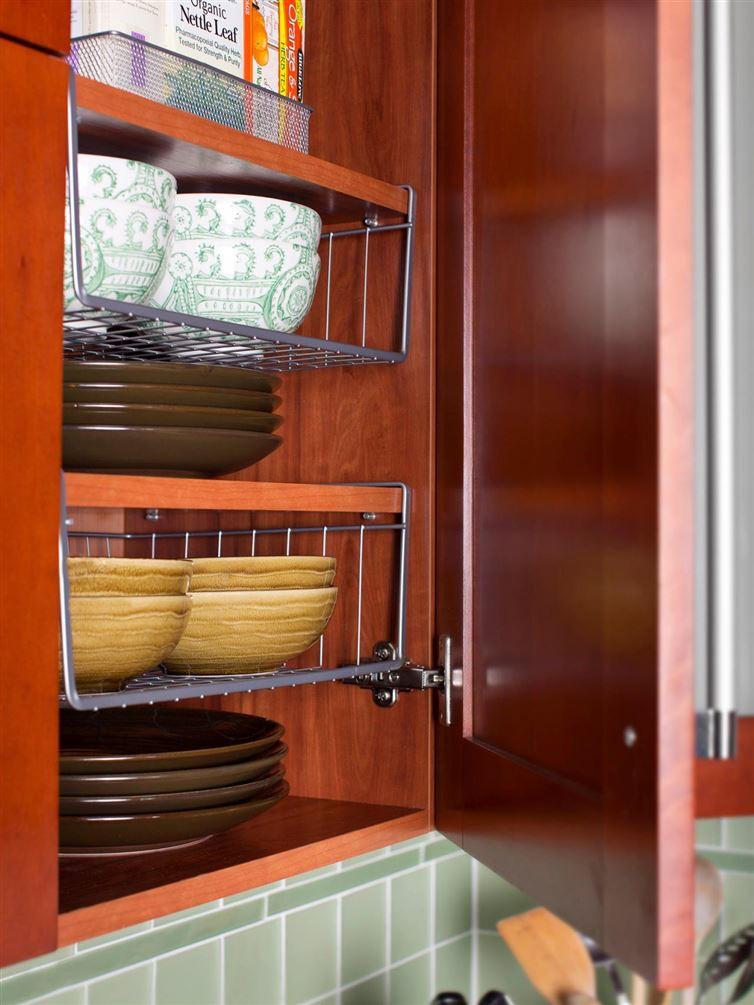 14 хитрых способов сэкономить место на кухне
