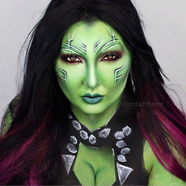 Джордан Ганц и перевоплощения с помощью макияжа