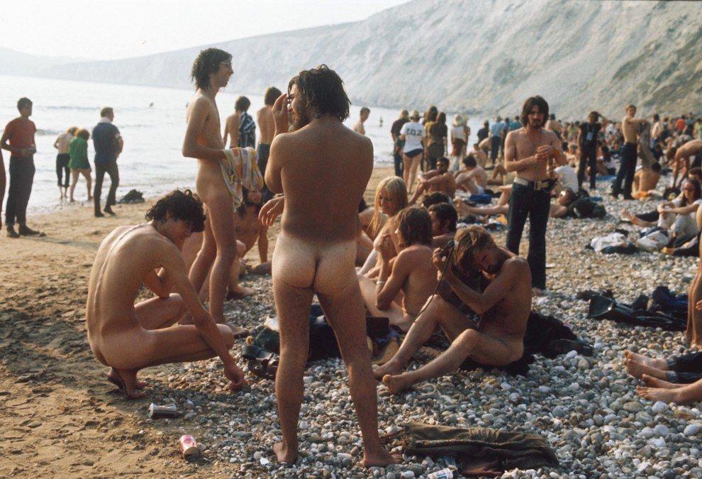 Музыкальный Фестиваль на острове Уайт: фотографии 60-70-х гг.