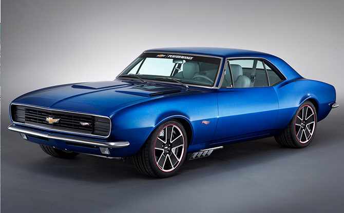 Самые красивые автомобили марки Chevrolet