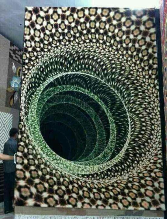 Прикольные оптические иллюзии на фото