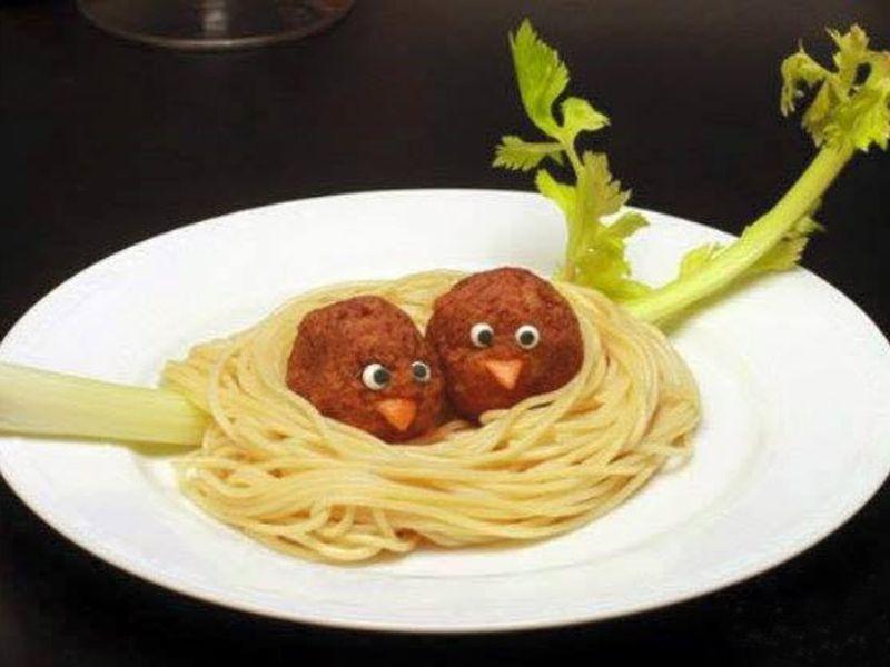 Забавные и вкусные скульптуры из еды