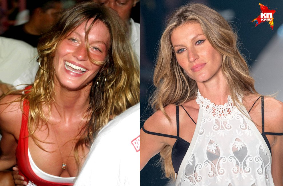 Знаменитые модели без макияжа
