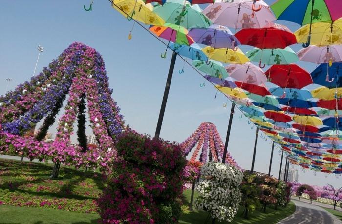 Цветочные сады в Дубае