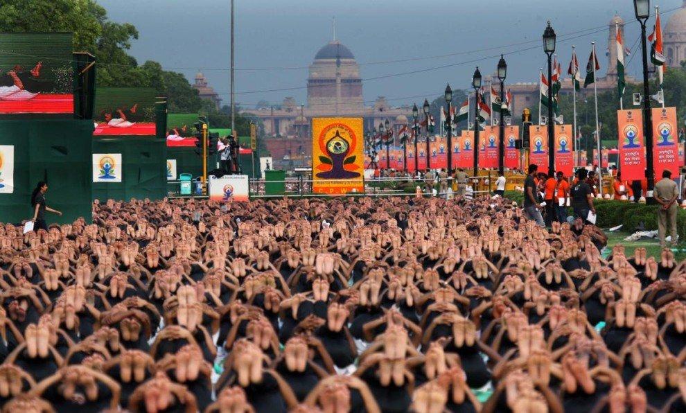 Первый Международный день йоги