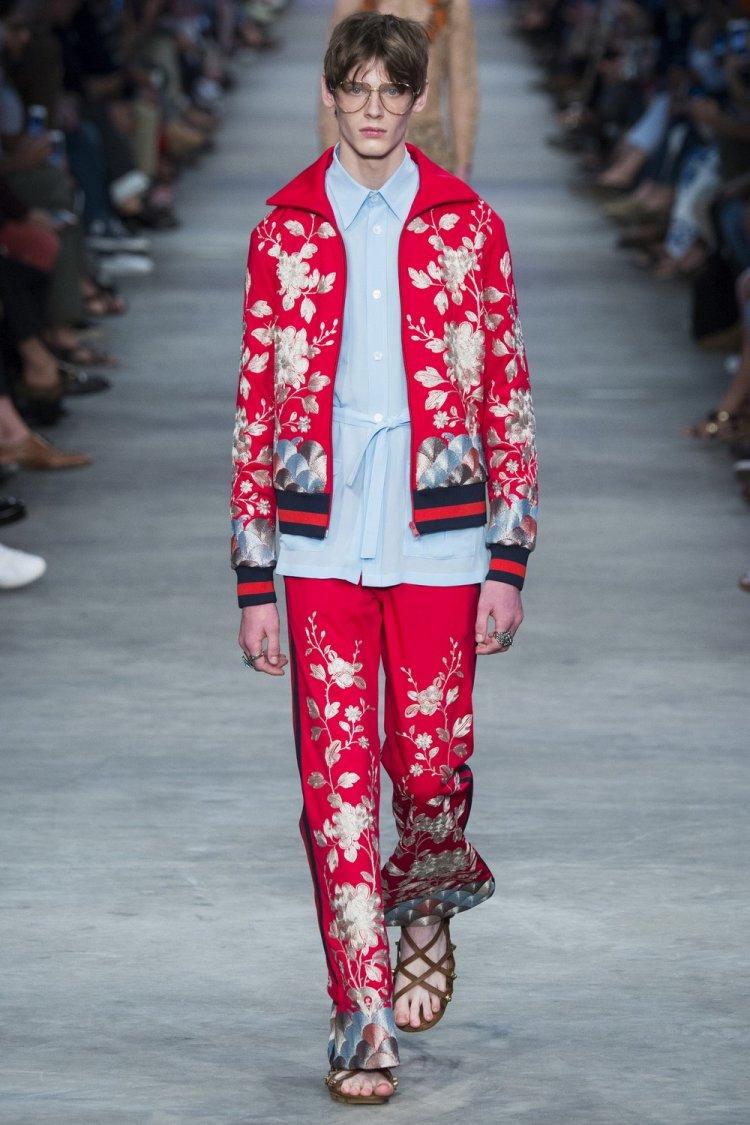 Современная мужская коллекция весна-лето 2016 от Gucci