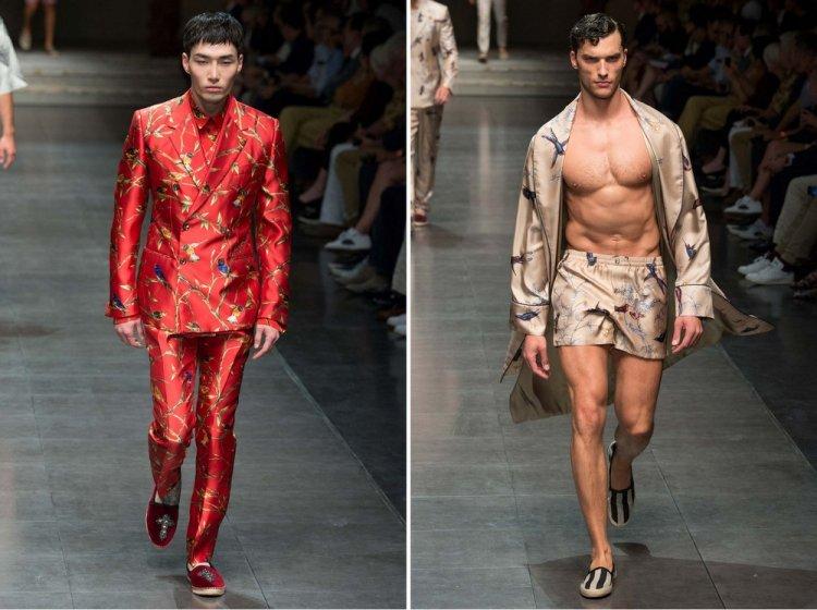 Мужская весенняя коллекция Dolce & Gabbana