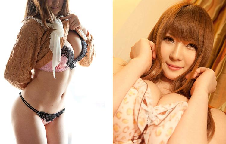 Самые сексуальные японские порнозвезды