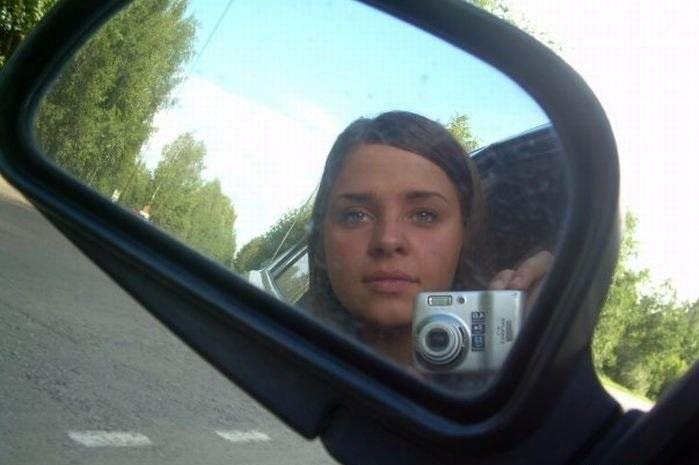 Когда девушка за рулем