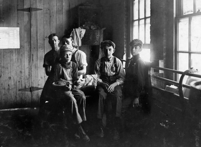 Работающие дети в Америке начала XX века