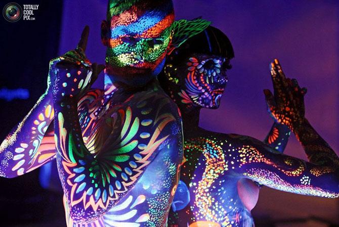Всемирный фестиваль боди-арта в Австрии 2015