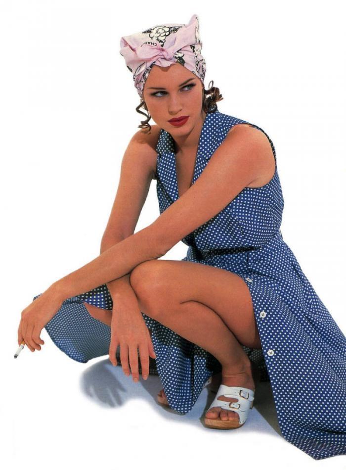Модели, которые стали известными актрисами