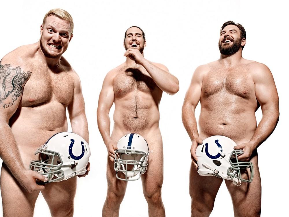 Обнаженные спортсмены в фотопроекте для журнала ESPN
