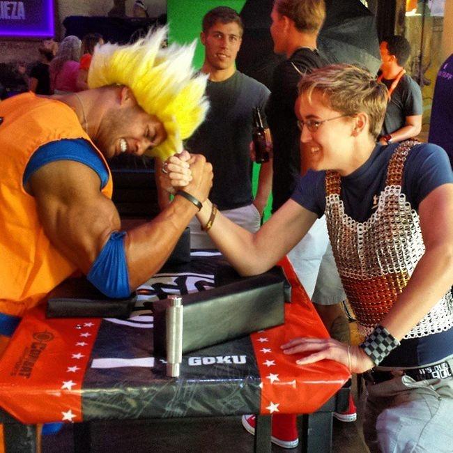 Фото с фестиваля Comic-Con 2015