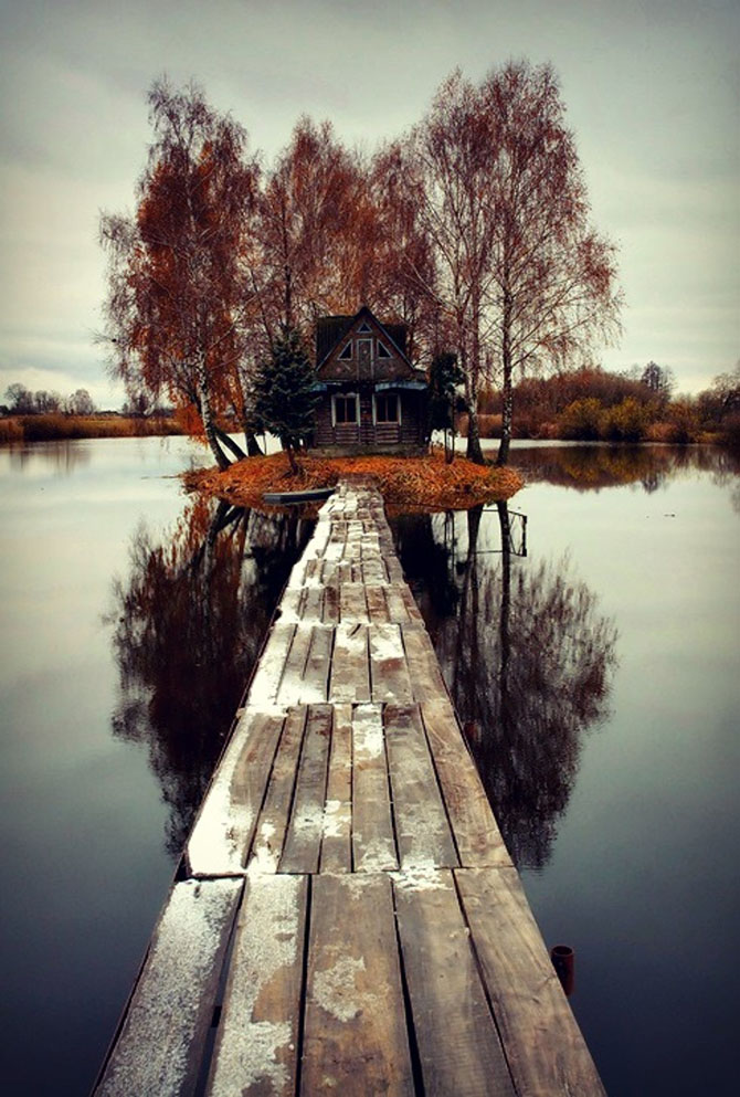 Жуткие и красивые заброшенные места