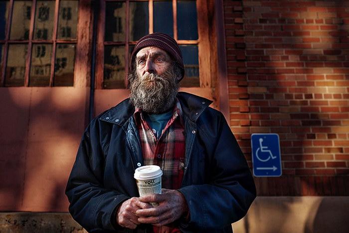 Бездомные жители США от фотографа Aaron Draper