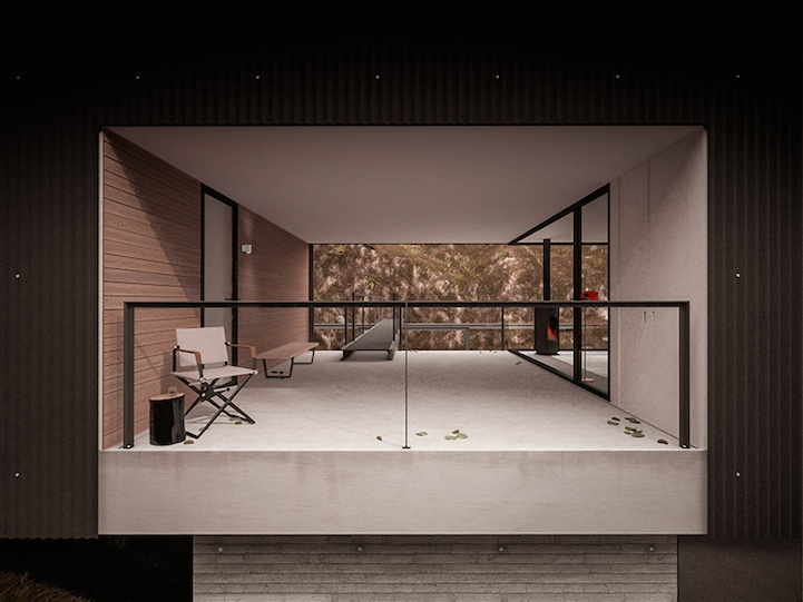 Дизайнерский дом для фотографа