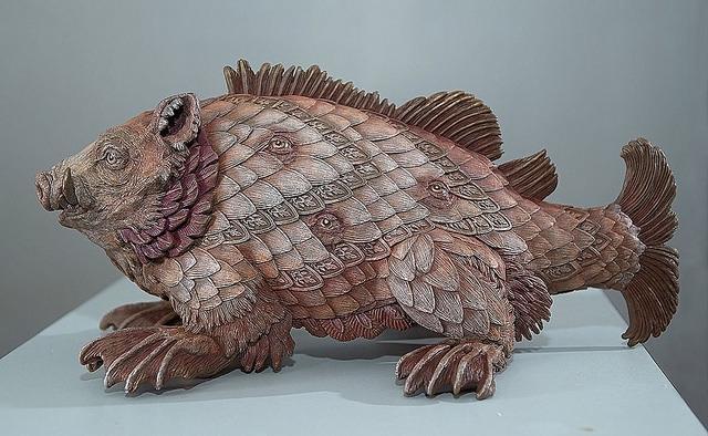 Мифологические существа со старинных морских карт