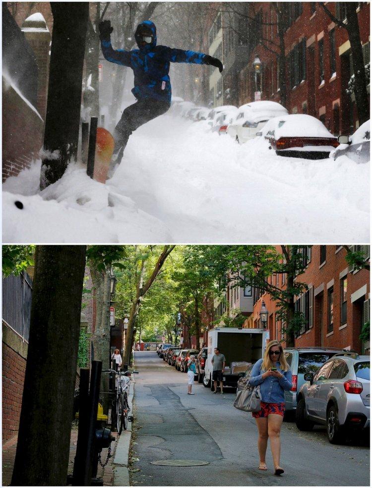 Одни и те же места зимой и летом