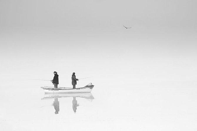 Туманная жизнь рыболовов от фотографа Марцина Собаса