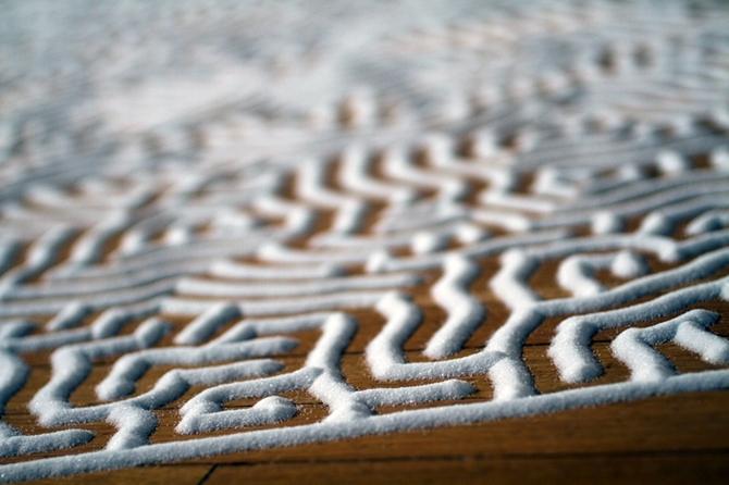 Лабиринты воспоминаний из морской соли