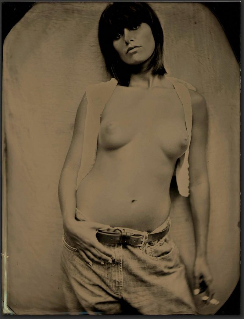 Эротические фотографии от Эда Росса, снятые методом тинтайп