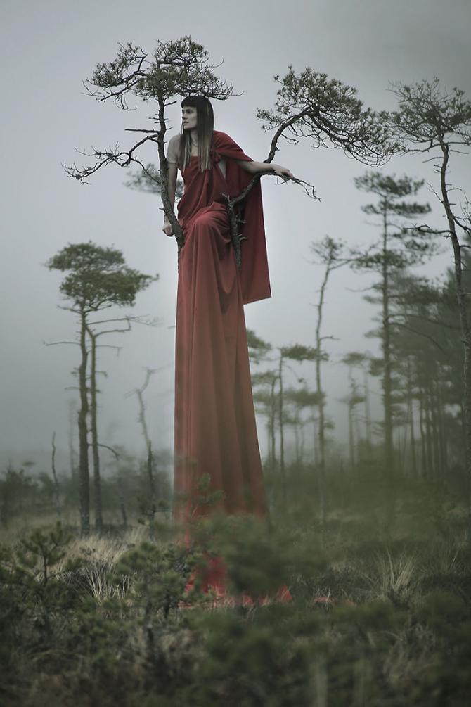 Фотограф стирает границы между человеком и природой