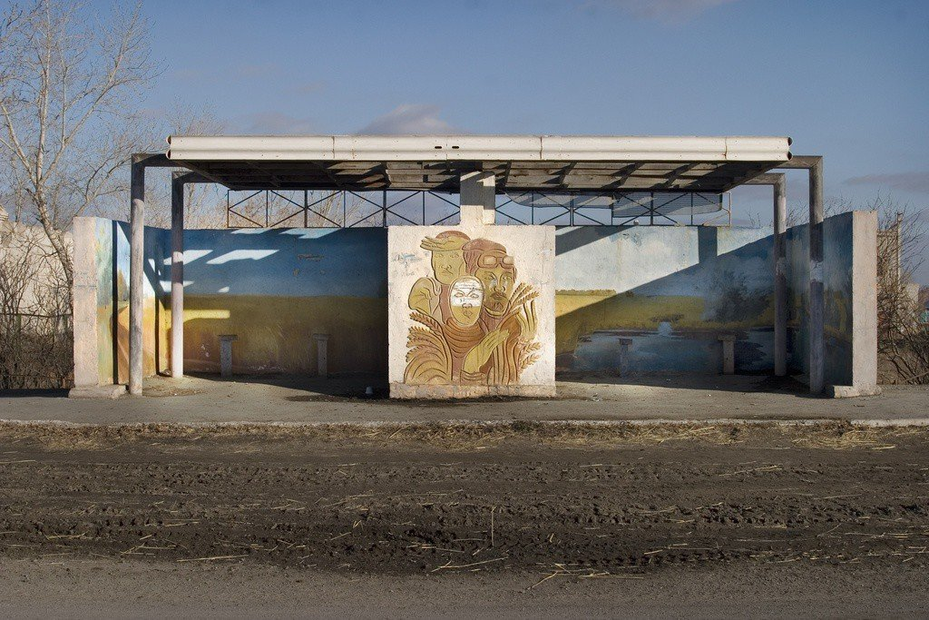 Советские автобусные остановки