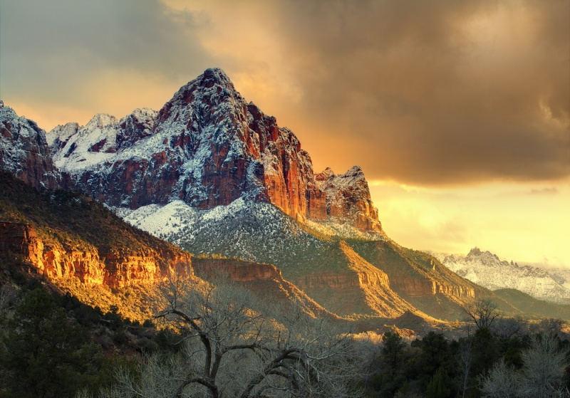 Красоты национального парка Зайон в США