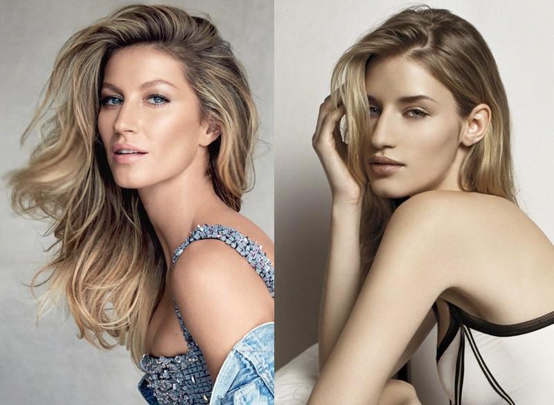 Модели, которые похожи друг на друга словно сестры