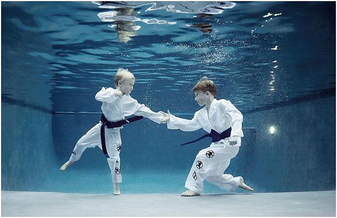 Спорт под водой