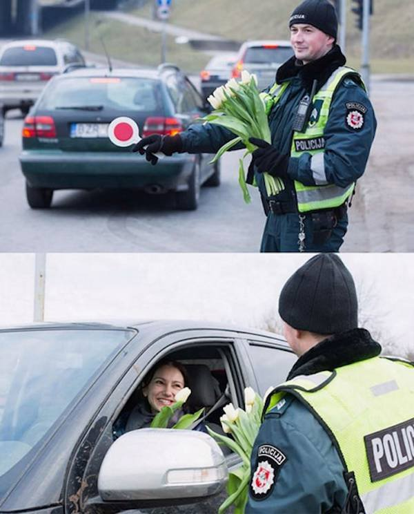 Нескучные будни полицейских