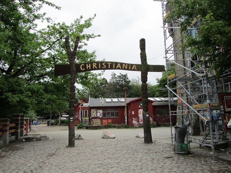Свободный город Христиания, основанный хиппи