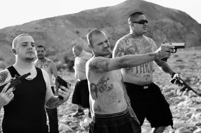 Жизнь членов мексиканской банды из Калифорнии