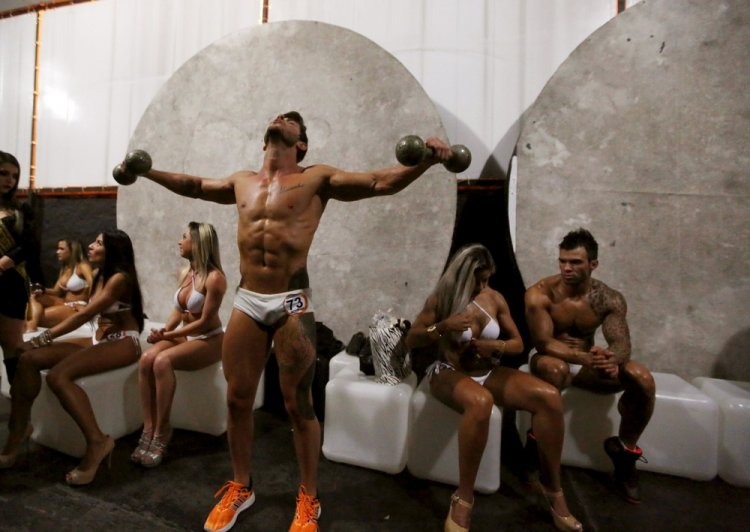 Конкурс Мисс и мистер фитнес в Бразилии