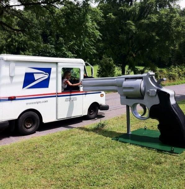 Забавные почтовые ящики